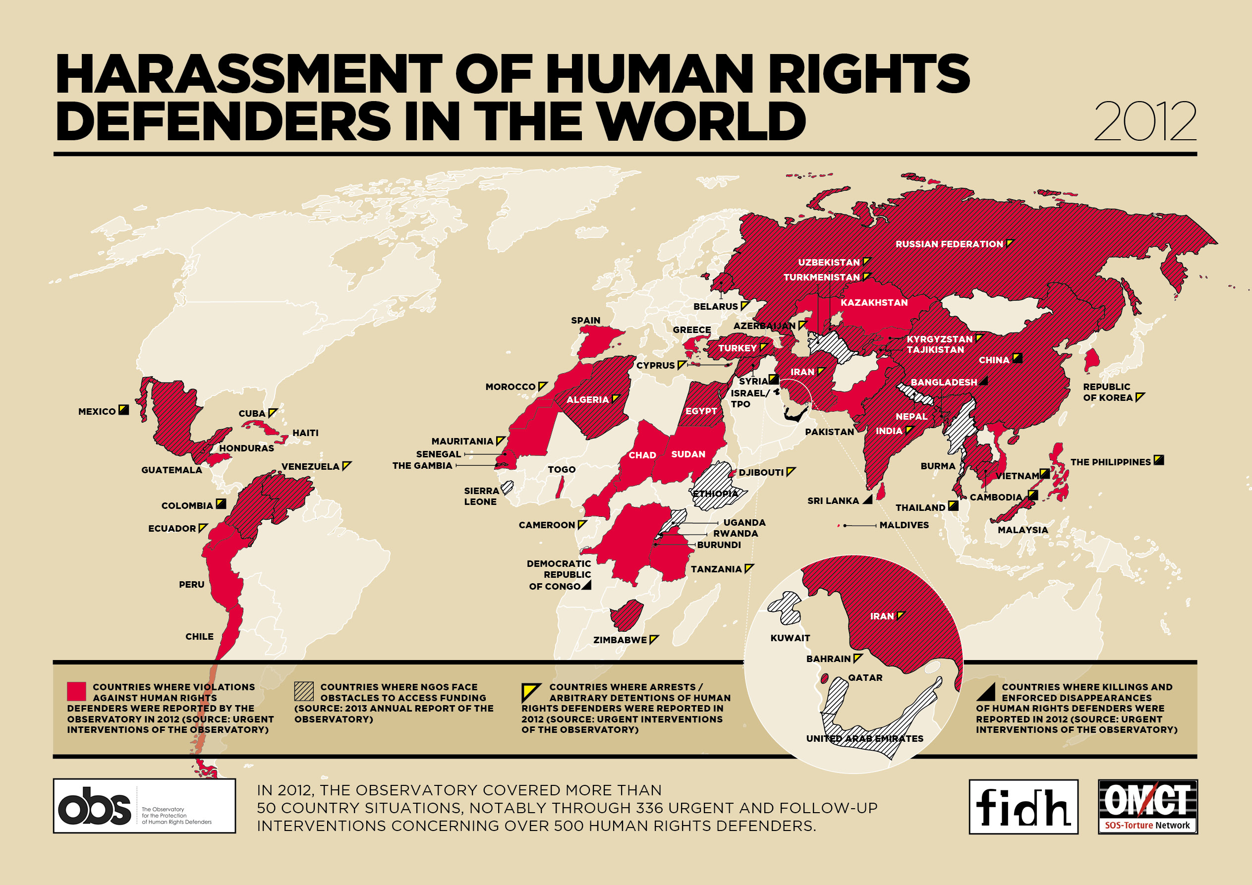 an analysis of human rights violations around the world The human rights data analysis group is a non-profit, non-partisan organization that applies rigorous science to the analysis of human rights violations around the world we are a team with expertise in mathematical statistics, computer science, demography, and social science.
