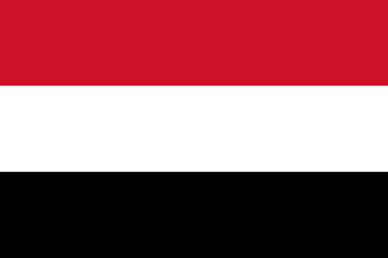Yemen flag medium