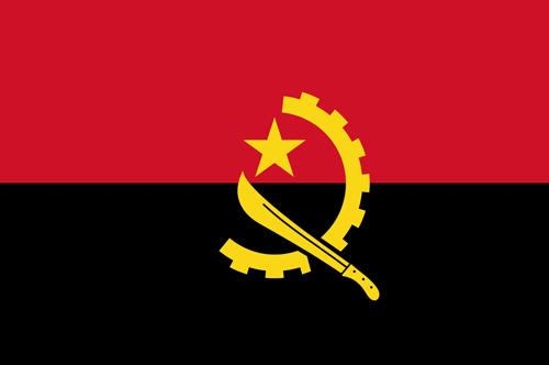 Angola flag small