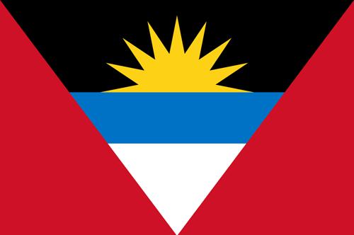 Antigua and barbuda flag small