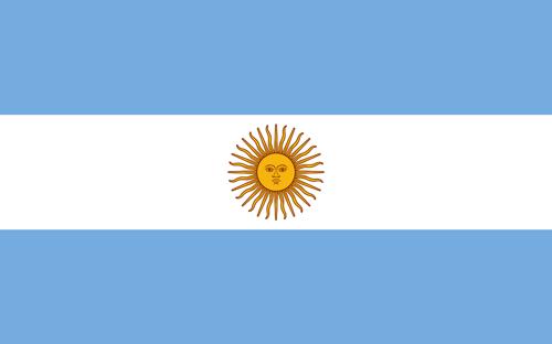 Argentina flag small