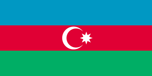 Azerbaijan flag small