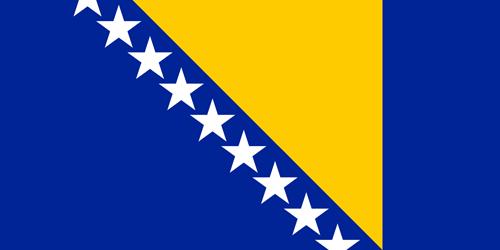 Bosnia and herzegovina flag small