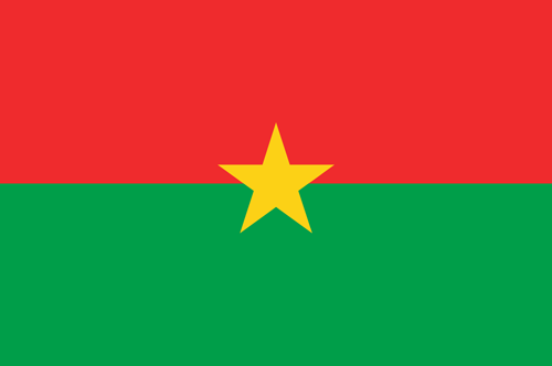 Burkina faso flag small