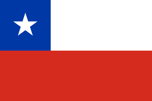 Chile flag small