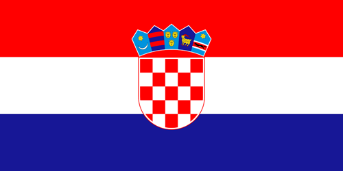 Croatia flag small