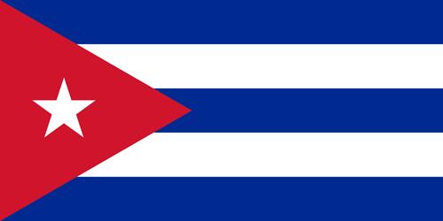 Cuba flag small