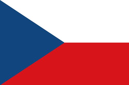 Czech republic flag small