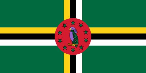Dominica flag small