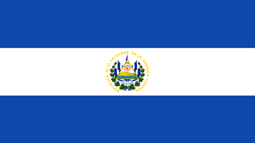 El salvador flag small
