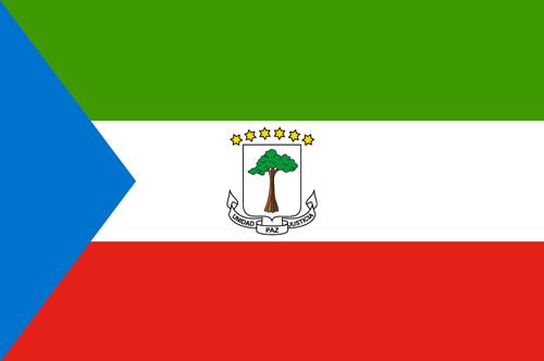 Equatorial guinea flag small