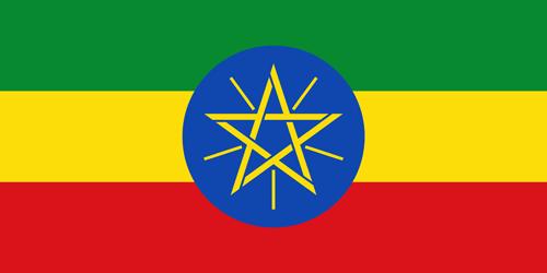 Ethiopia flag small