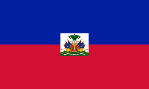 Haiti flag small
