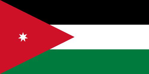 Jordan flag small
