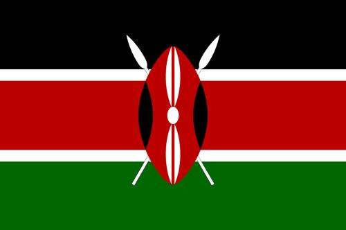 Kenya flag small
