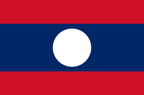 Laos flag small