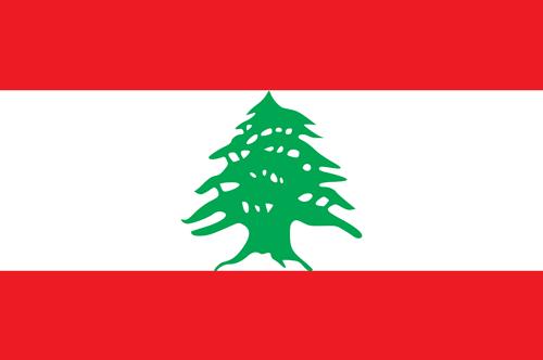 Lebanon flag small