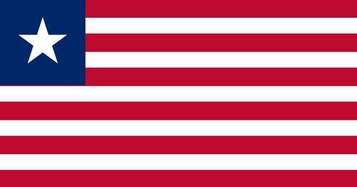 Liberia flag small