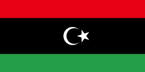 Libya flag small