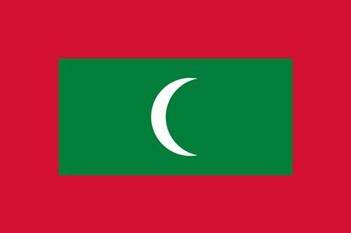 Maldives flag small