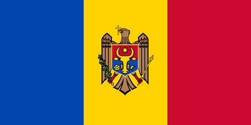 Moldova flag small