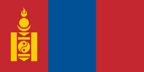 Mongolia flag small