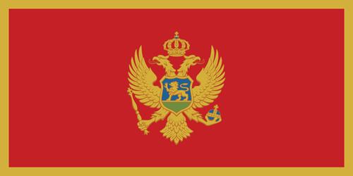 Montenegro flag small