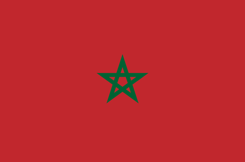 Morocco flag small