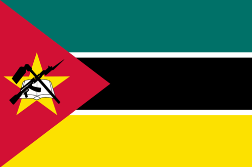 Mozambique flag small