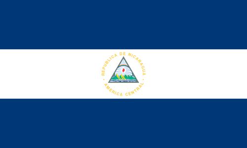 Nicaragua flag small