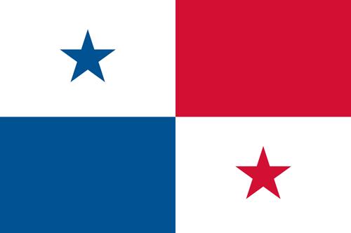 Panama flag small