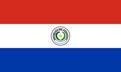 Paraguay flag small