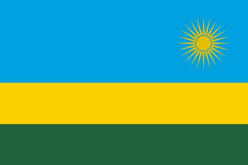 Rwanda flag small