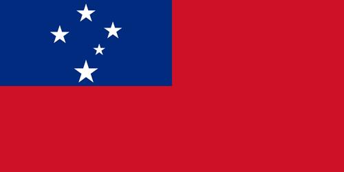 Samoa flag small