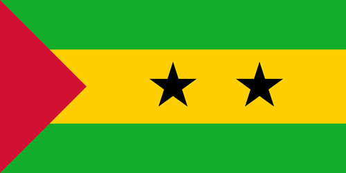 Sao tome and principe flag small