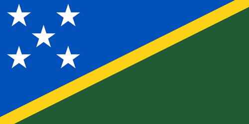 Solomon islands flag small