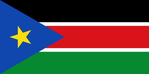 South sudan flag small