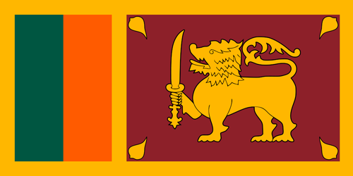 Sri lanka flag small