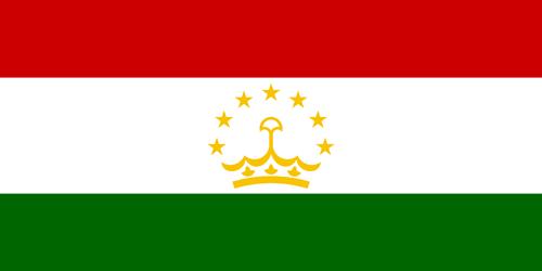Tajikistan flag small
