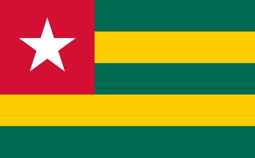 Togo flag small