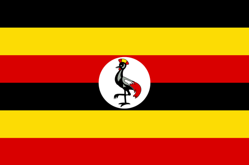 Uganda flag small