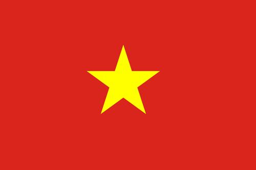 Vietnam flag small