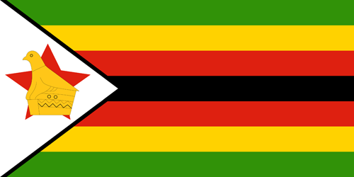 Zimbabwe flag small