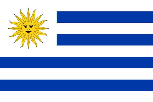 Uruguay flag small 1