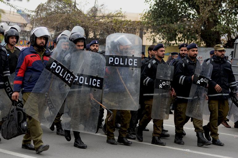 Shutterstock pakistan police