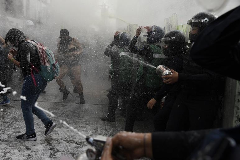 María Fernanda Muñoz Ruiz protest women