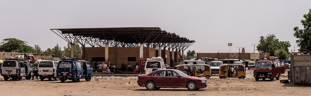 Agadez Bus Station Erwan Rogard2019